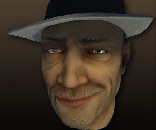 texturing_human_face