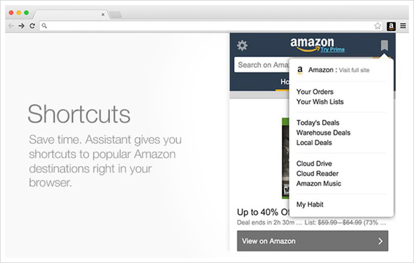 Amazon Assistant for Firefox