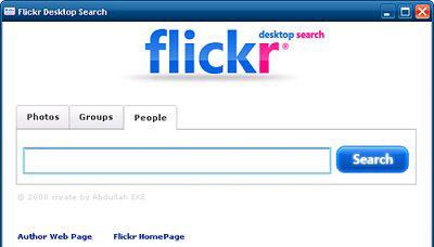 Flickr_desktop_search