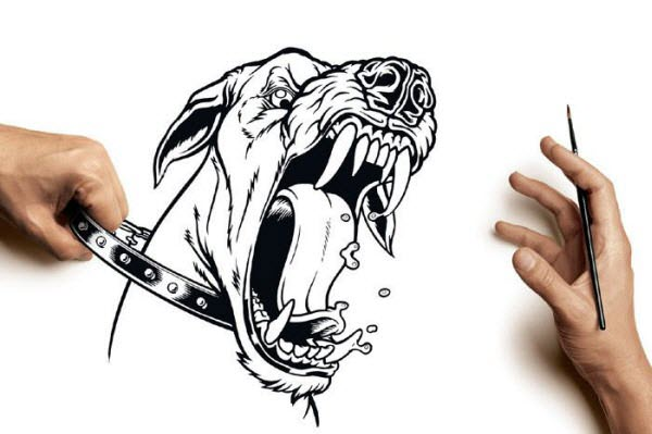 fierce dog