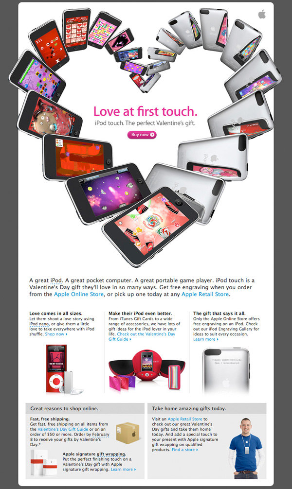 apple's love at first touch