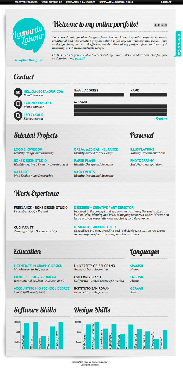 resumes for promotion