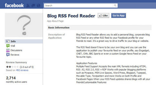 blog rss feed reader