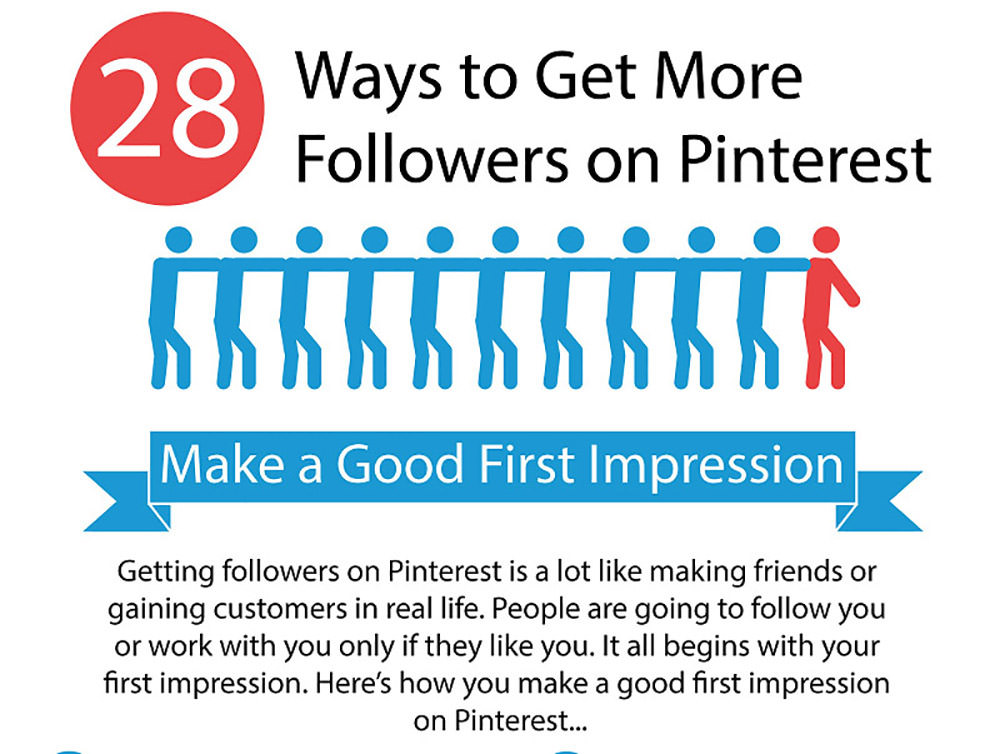 28 Ways to Get More Followers on Pinterest