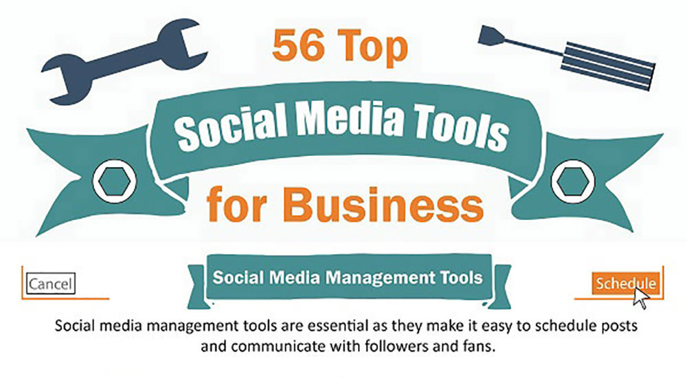56 Top Social Media Tools for Business