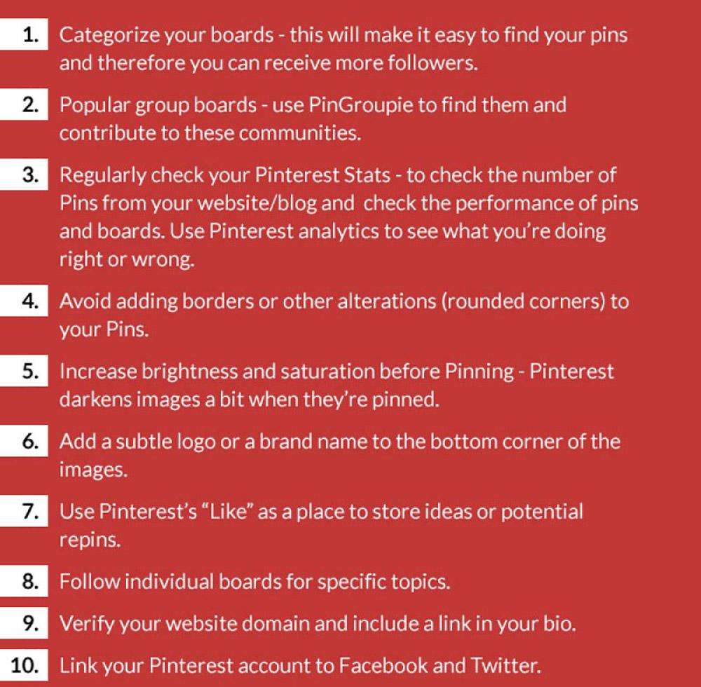 Social Media Marketing Growth Hacks: Pinterest