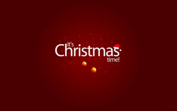its christmas time