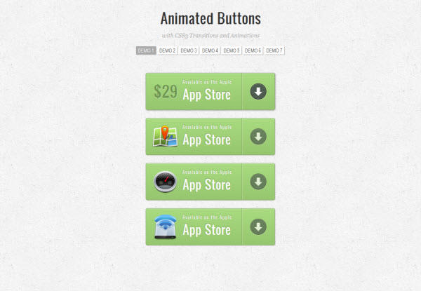 animated buttons