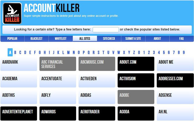 account killer