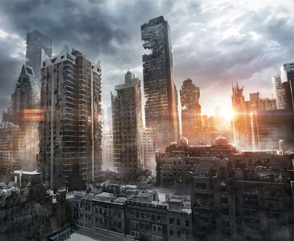 new york ruins