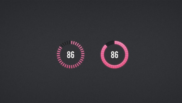 circular progress bars