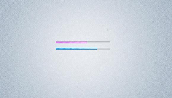 minimal loading bars