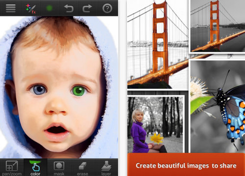 Paint FX Photo Effects Editor for iPhone and iPad