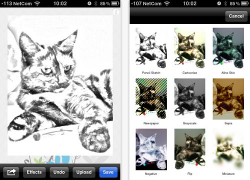 PhotoSketch for iPhone