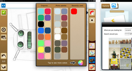 PicoBoo - Photo Coloring and Sketch Book for the iPad