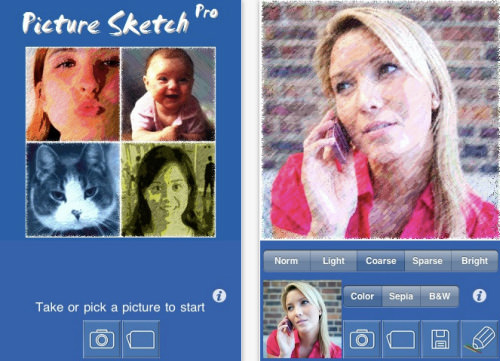 Picture Sketch Pro for iPhone