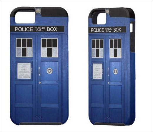 Police Phone Call Box iPhone 5 Cases