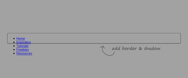 Step 2 - Styling the Navigation with Nested Rule