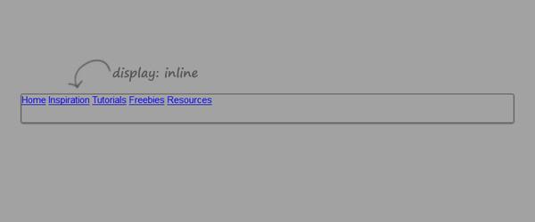 Step 4 - Display: Inline