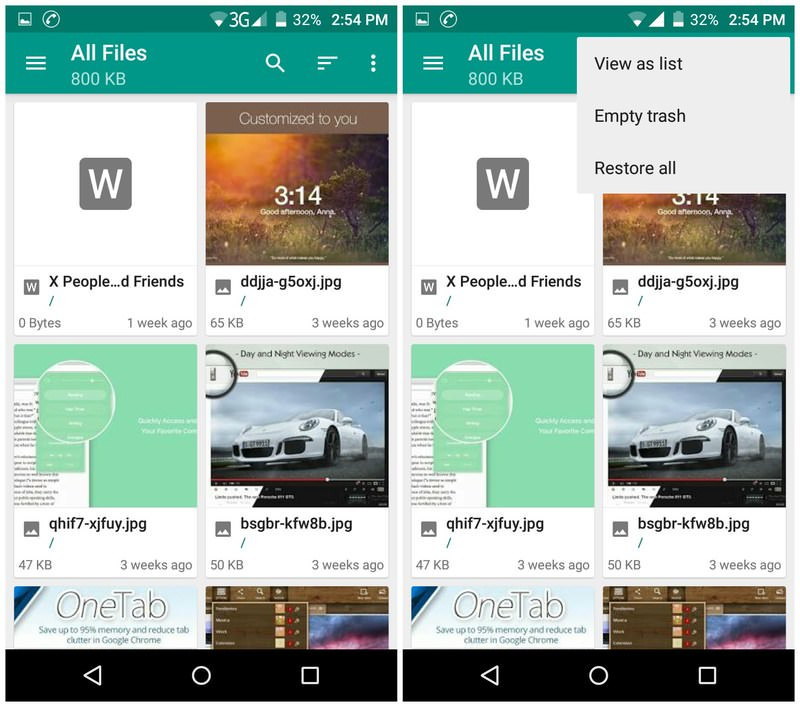 How to Manage Files Across Different Cloud Storage [Android]