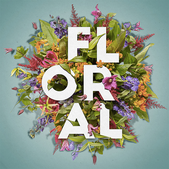 floral-text-effect