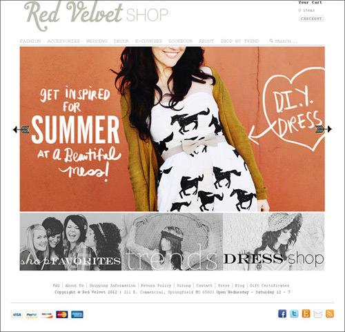 30 Professional Looking e-Commerce Web Designs - Hongkiat