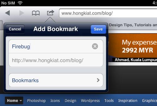 Firebug Bookmark Rename