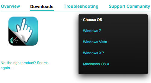 Install TouchMouse