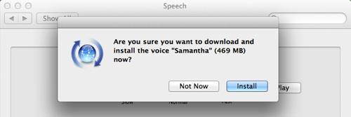 Install Samantha