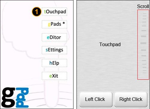 gPad Touchpad