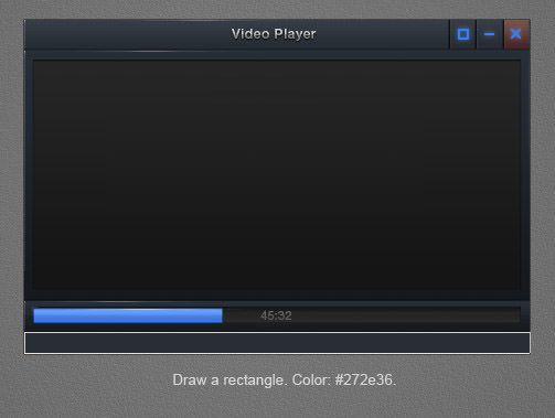 tutorial video player interface 61