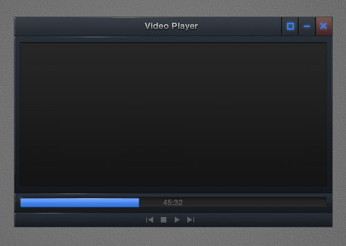 tutorial video player interface 65