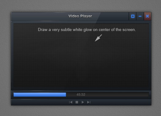 tutorial video player interface 72