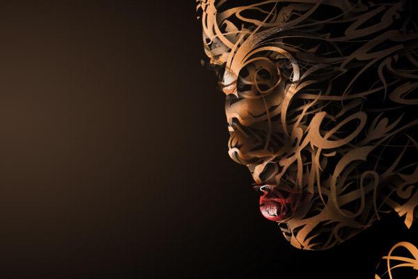 vector composite face