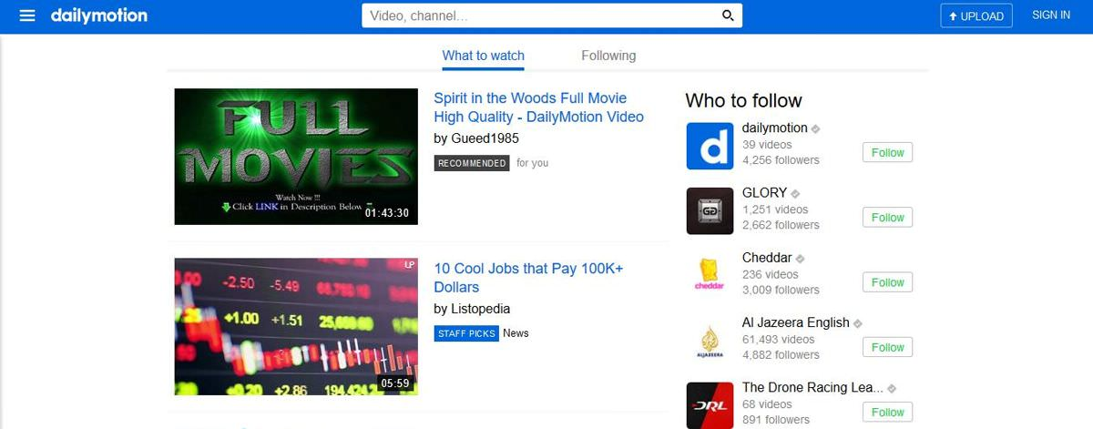 Dailymotion's video monetization program