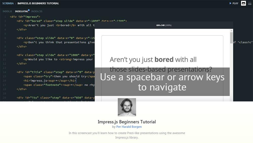 Scrimba coding tutorial casts
