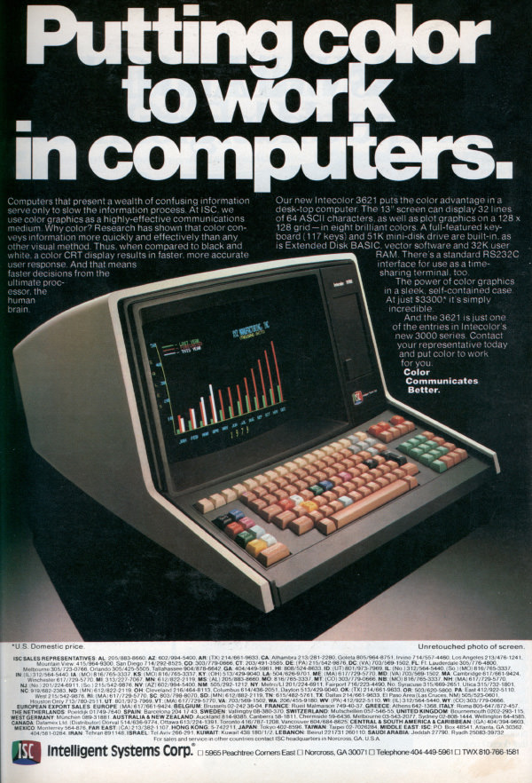Putting Color to Work in Computers (Sep, 1979)