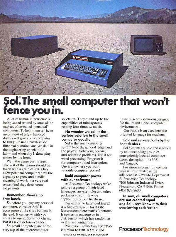 The Small Computer That Won't Fence You In