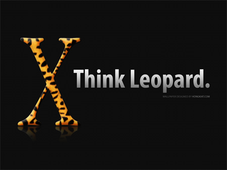 leopard wallpaper - think leopard