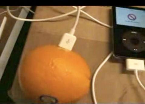 weird ipod charge
