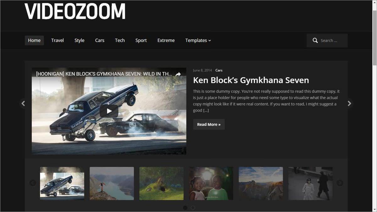 Videozoom's demo