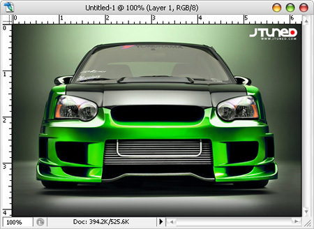 Photoshop Tutorial How To Paint A Car Hongkiat