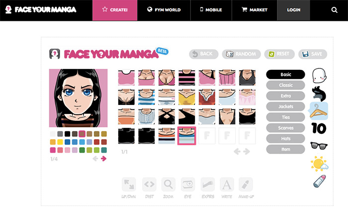 12 Sites To Create Cartoon Characters Of Yourself