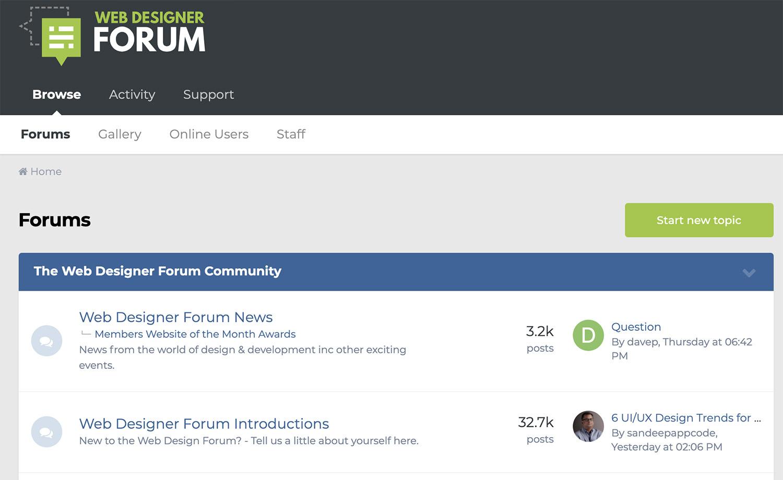 The Web Design Forum (UK)