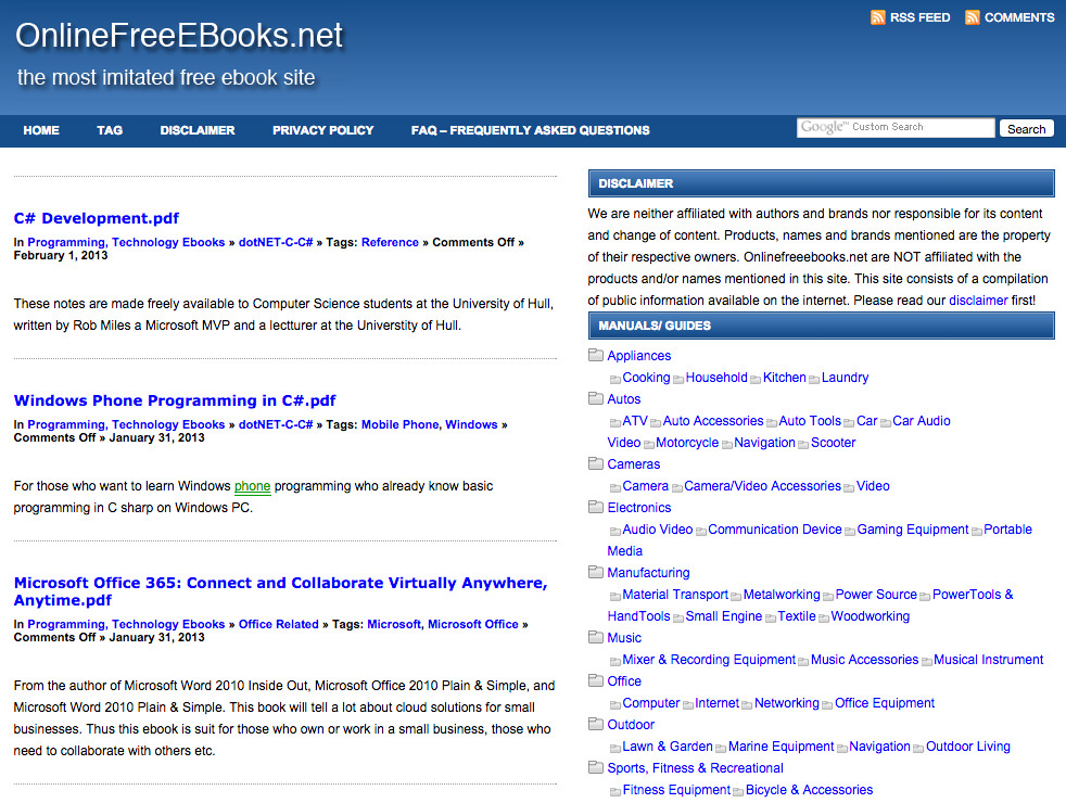 20 best websites to download free ebooks hongkiat onlinefreeebooks fandeluxe Image collections
