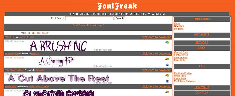 Font-Freak