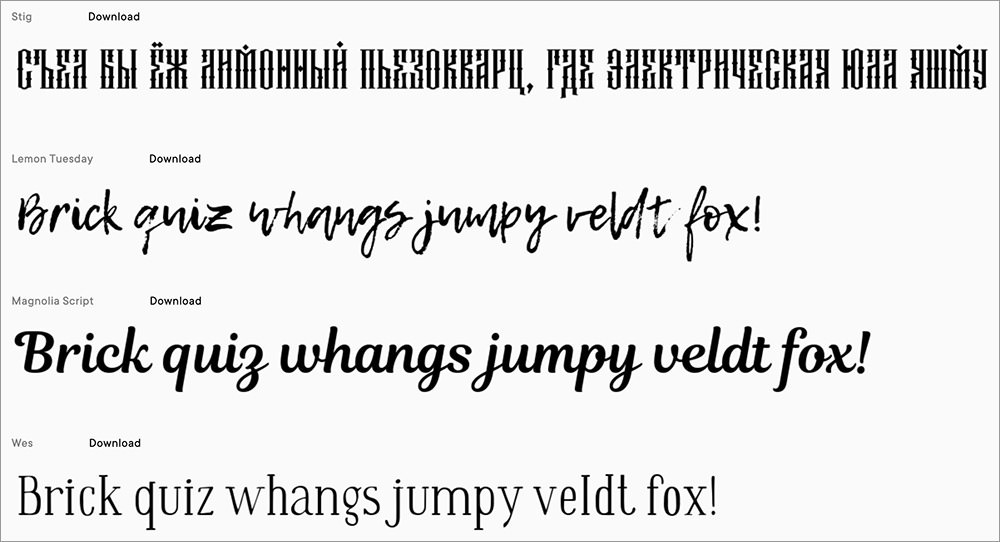 Free-Fonts-Project