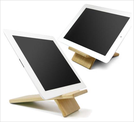 Bamboo Panel iPad mini Stand