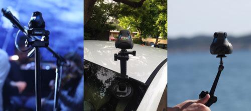 360cam Tripods