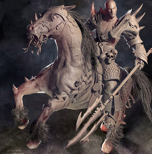 Warhammer Rider